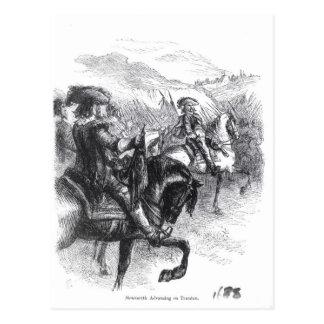 Carte Postale Duc de Monmouth avançant sur Taunton