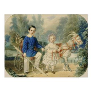 Carte Postale Duc grand Alexandre et duc grand Alexey