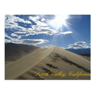 Carte Postale Dunes plates de mesquite