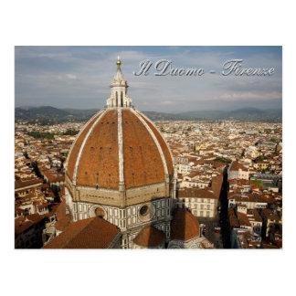 Carte Postale Duomo de l'IL - Firenze