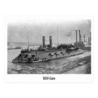 Carte postale d'USS le Caire