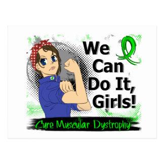 Carte Postale Dystrophie musculaire de l'Anime WCDI de Rosie