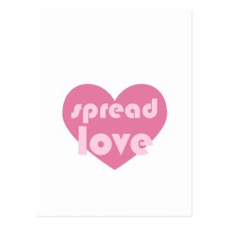 Carte Postale Écartez l'amour (général)