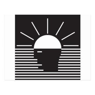 Carte Postale éclair d'idée lumineuse