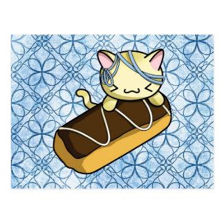 Carte Postale Eclair Kitty