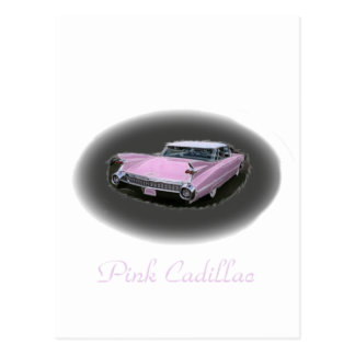 Carte Postale Éclair rose de Cadillac