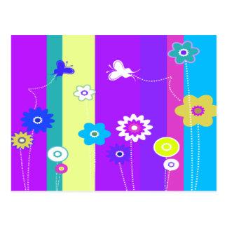 Carte Postale Éclat de couleur