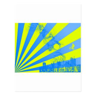 Carte Postale Éclat de jaune