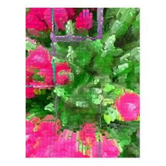 Carte Postale Éclat de rose de rose