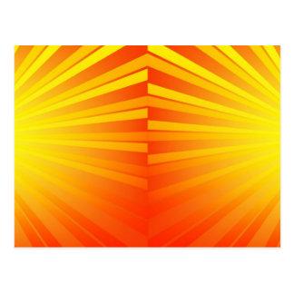 Carte Postale Éclat d'orange