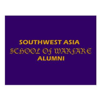 Carte Postale École de l'Asie du sud-ouest des anciennes élèves