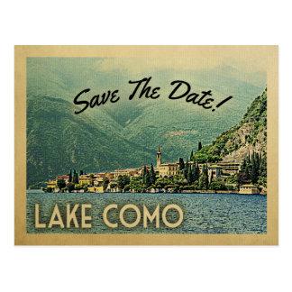 Carte Postale Économies de Como de lac la date Menaggio Italie
