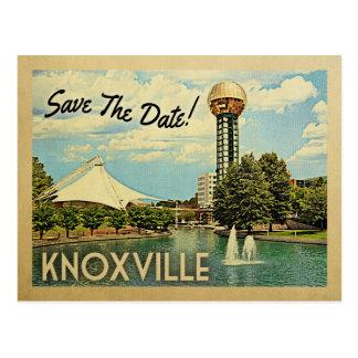 Carte Postale Économies de Knoxville la date Tennessee