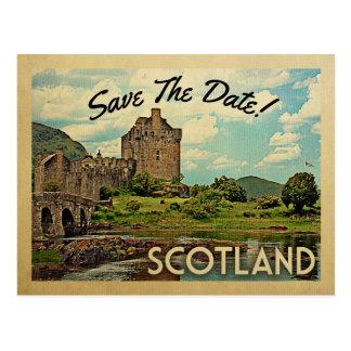 Carte Postale Économies de l'Ecosse le château d'Eilean Donan de