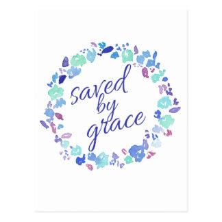 Carte Postale Économisé par grâce