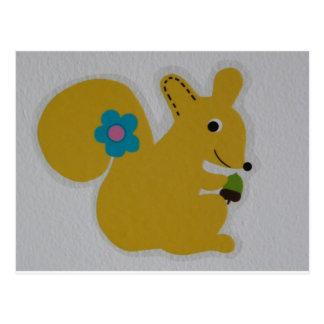 Carte Postale écureuil