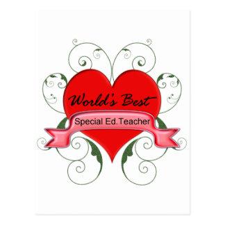 Carte Postale Ed spécial. Teacherr