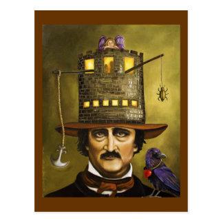 Carte Postale Edgar Allan Poe