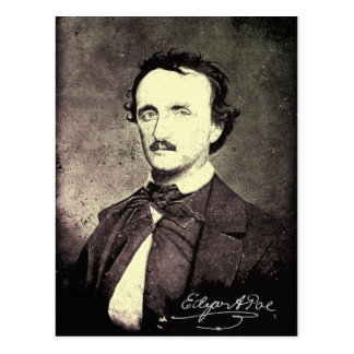 Carte Postale Edgar Allan Poe *Restored et Refinished*