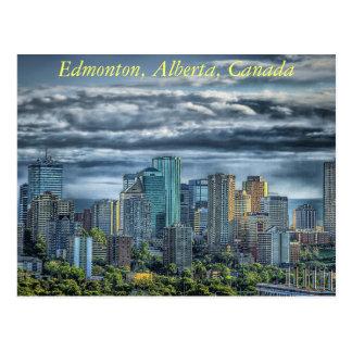 Carte Postale Edmonton, Alberta au Canada