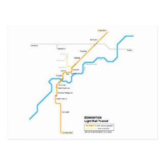 Carte Postale Edmonton métro postcard