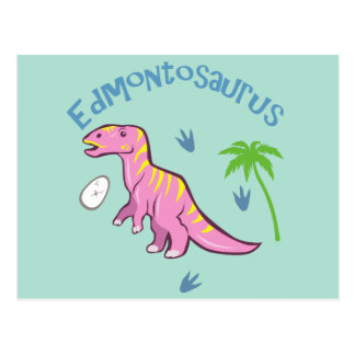 Carte Postale Edmontosaurus mignon