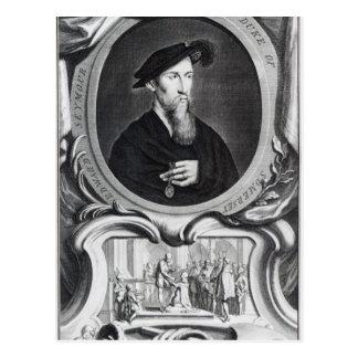 Carte Postale Edouard Seymour, ęr duc de Somerset