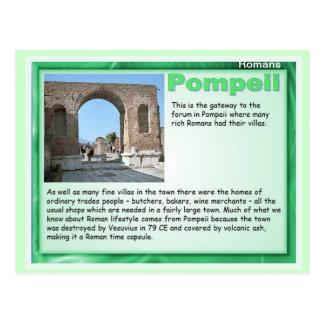 Carte Postale Éducation, histoire, Romains, Pompeii