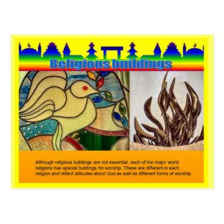 Carte Postale Éducation, religion, bâtiments religieux