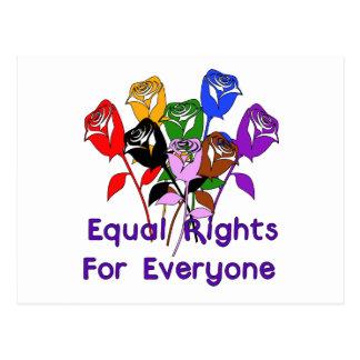 Carte Postale Égalité des droits
