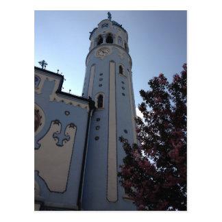 Carte Postale Église bleue, Bratislava