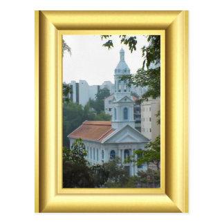 Carte Postale Église catholique romaine, Singapour