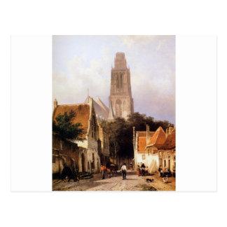 Carte Postale Église dans Zaltbommel par Cornelis Springer
