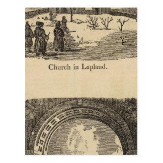 Carte Postale Église de la Laponie, St Petersburgh de palais