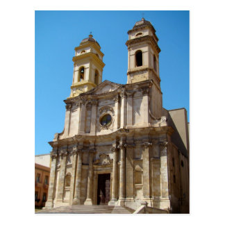 Carte Postale Église de Sant'Anna, Cagliari, Sardaigne