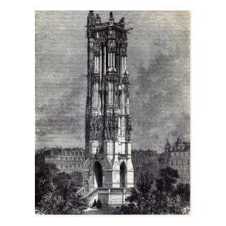 Carte Postale Église de St Jacques de la Boucherie