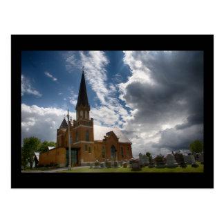 Carte Postale Église luthérienne de Salem