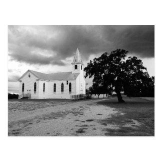Carte Postale Église luthérienne de trinité - Fedor, le Texas -