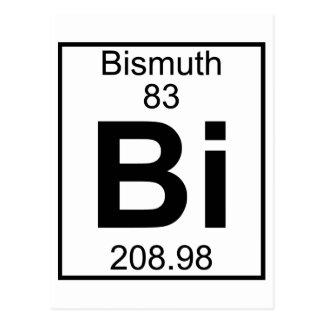 Carte Postale Élément 083 - Bi - bismuth (plein)