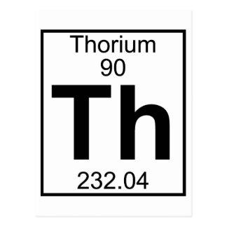 Carte Postale Élément 090 - Th - thorium (plein)