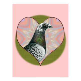 Carte Postale Emballage de Homer :  Coeur