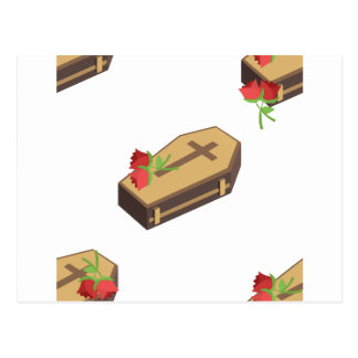 Carte Postale emojis de cercueil
