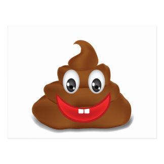 Carte Postale emojis de poo
