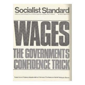 Carte Postale En octobre 1966 standard socialiste