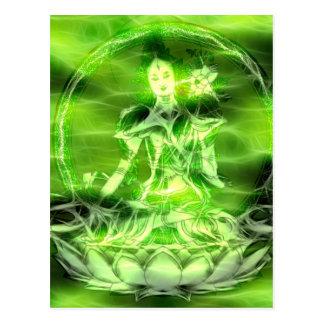 Carte Postale Énergie 5 Tara de Bouddha