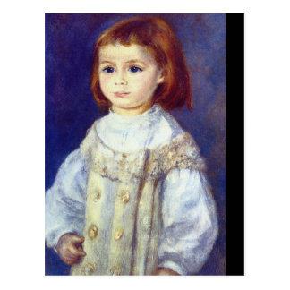 Carte Postale Enfant dans White_Impressionists