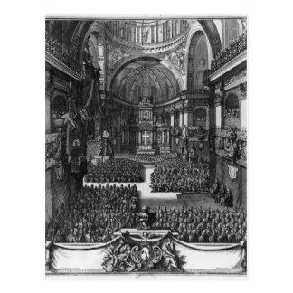 Carte Postale Enterrement de reine de d'Orleans de Marie-Louise
