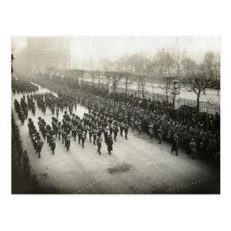 Carte Postale Enterrement du Général Joffre, le 8 janvier 1931