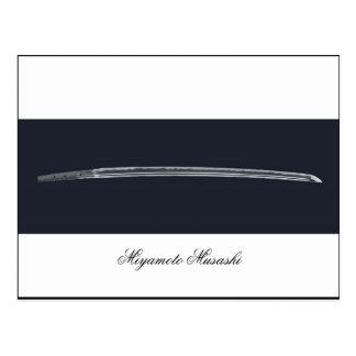 Carte Postale Épée de Miyamoto Musashi