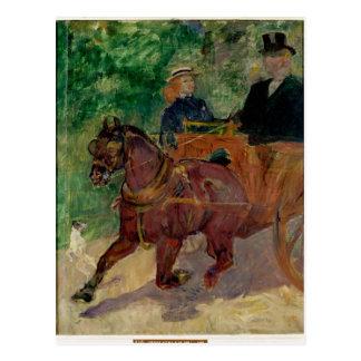 Carte Postale Épi armé à un chariot, 1900